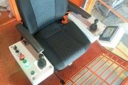 Производство и монтаж Тормозного резистора БСК,Кресло пульт оператора КПО-5,так же шкаф управления с применением частотного привода и системы антираскачки. Кран мостовой г/п 32/5 т